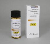 Clenbuterol comprimidos 20mcg (100 com)