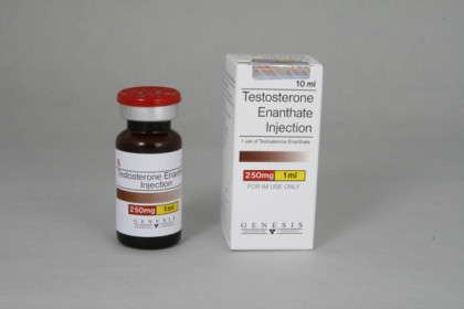 Enantato de Testosterona inyectable 250mg/ml (10ml)