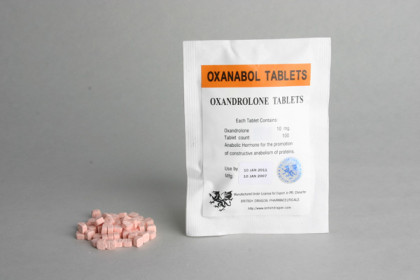 Oxanabol comprimidos 10mg (100 com)