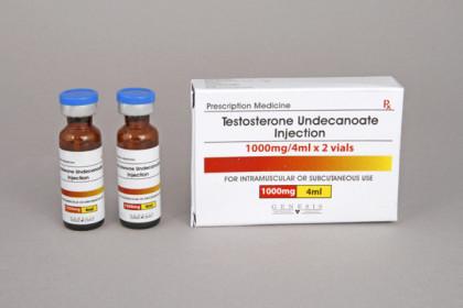 Undecanoato de Testosterona inyección 500mg/amp (2 amp)